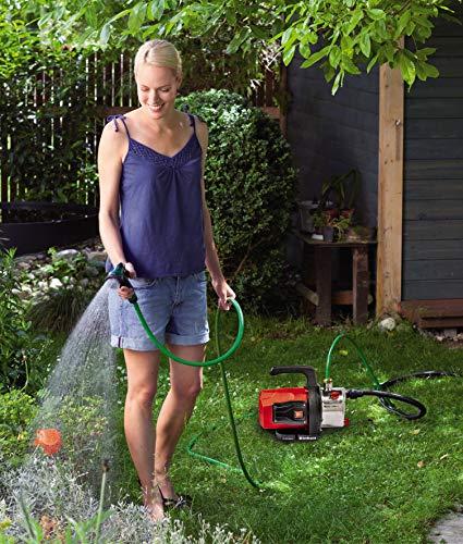 Einhell Gartenpumpe GC-GP 1046 N (1050 W, 4600 L/h Max. Fördermenge, Wassereinfüllschraube, Wasserablassschraube) - 2