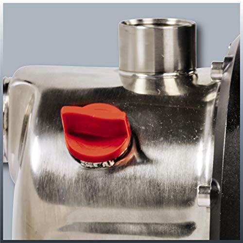 Einhell Gartenpumpe GC-GP 1046 N (1050 W, 4600 L/h Max. Fördermenge, Wassereinfüllschraube, Wasserablassschraube) - 4