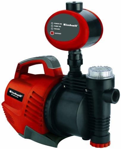Einhell RG-AW 6536 Hauswasserautomat, 650 Watt, 3750 l/h Fördermenge, Edelstahlanschluss