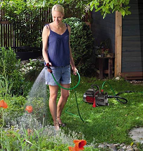 Einhell Gartenpumpen Set GC-GP 6538 Set (650 W, 3800 L/h Fördermenge, max. Förderdruck 3,6 bar, Wassereinfüllschraube, Wasserablassschraube) - 2