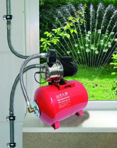 T.I.P. 31311 Hauswasserwerk HWW 1300/50 Plus TLS mit Trockenlaufschutz und 50 Liter Tank - 2