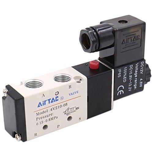 heschen Elektro-Pneumatische Magnetventil 4V210–0812VDC 4,8W PT1/45Way 2Position CE