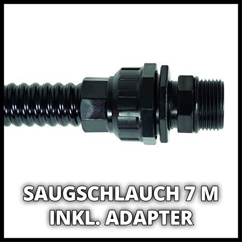Einhell Saugschlauch (Schlauchlänge 7 m, aus Kunststoff) - 6